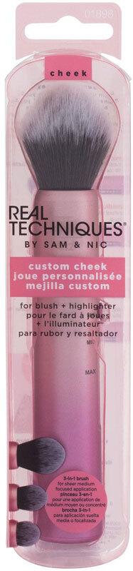 Real Techniques Brushes Cheek Custom Brush 1pc