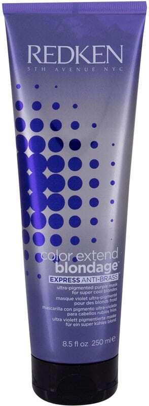 Redken Color Extend Blondage Express Anti-Brass Hair Mask 250ml (Blonde Hair)