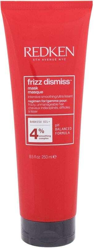 Redken Frizz Dismiss Intense Smoothing Hair Mask 250ml (Unruly Hair - Dry Hair)
