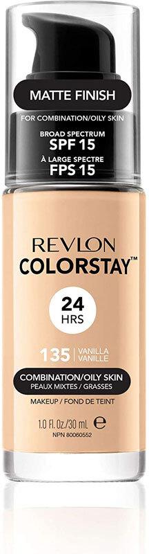 Revlon Colorstay Combination Oily Skin SPF15 Makeup 135 Vanilla 30ml