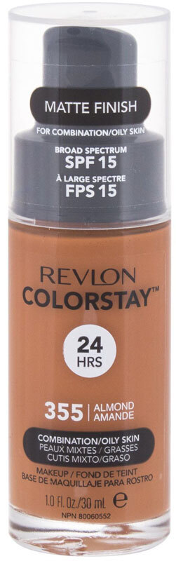 Revlon Colorstay Combination Oily Skin SPF15 Makeup 355 Almond 30ml