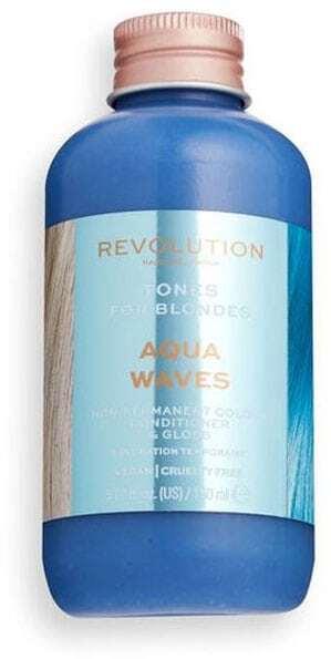 Revolution Haircare London Tones For Blondes Hair Color Aqua Waves 150ml (Colored Hair - Blonde Hair - All Hair Types)