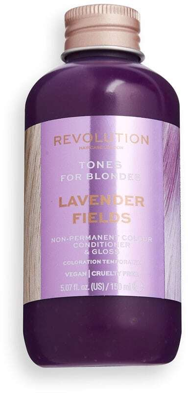 Revolution Haircare London Tones For Blondes Hair Color Lavender Fields 150ml (Colored Hair - Blonde Hair - All Hair Types)
