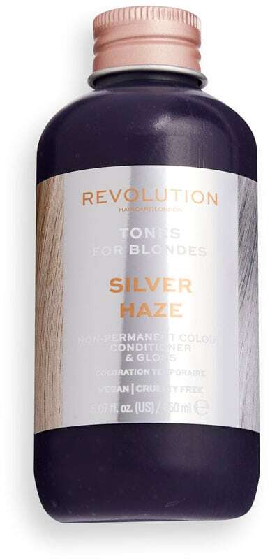 Revolution Haircare London Tones For Blondes Hair Color Silver Haze 150ml (Colored Hair - Blonde Hair - All Hair Types)