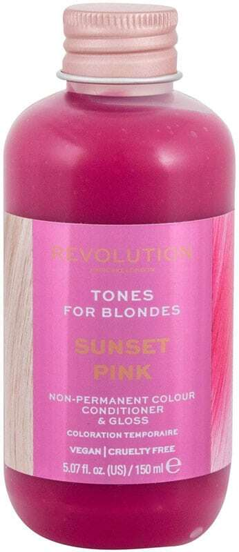 Revolution Haircare London Tones For Blondes Hair Color Sunset Pink 150ml (Colored Hair - Blonde Hair - All Hair Types)