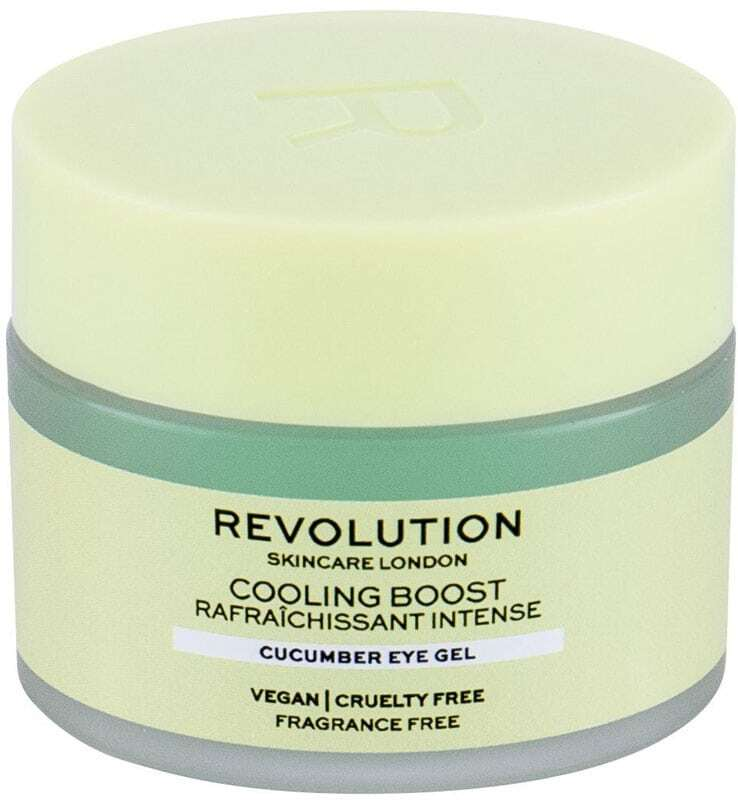 Revolution Skincare Cooling Boost Cucumber Eye Gel 15ml (For All Ages)