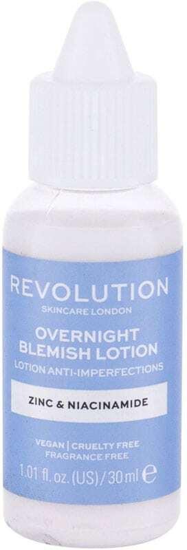 Revolution Skincare Overnight Blemish Lotion Zinc & Niacinamide Local Care 30ml