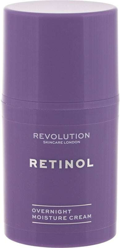 Revolution Skincare Retinol Overnight Night Skin Cream 50ml (Wrinkles - Mature Skin)