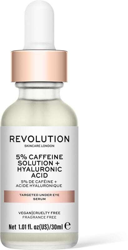 Revolution Skincare Skincare 5% Caffeine Solution + Hyaluronic Acid Targeted Under Eye Eye Gel 30ml (For All Ages)