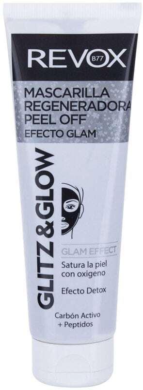 Revox Glitz & Glow Black Regenerating Face Mask 80ml (For All Ages)