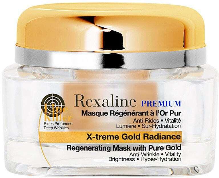 Rexaline Premium Line Killer X-treme Gold Radiance Face Mask 50ml (Wrinkles - Mature Skin)