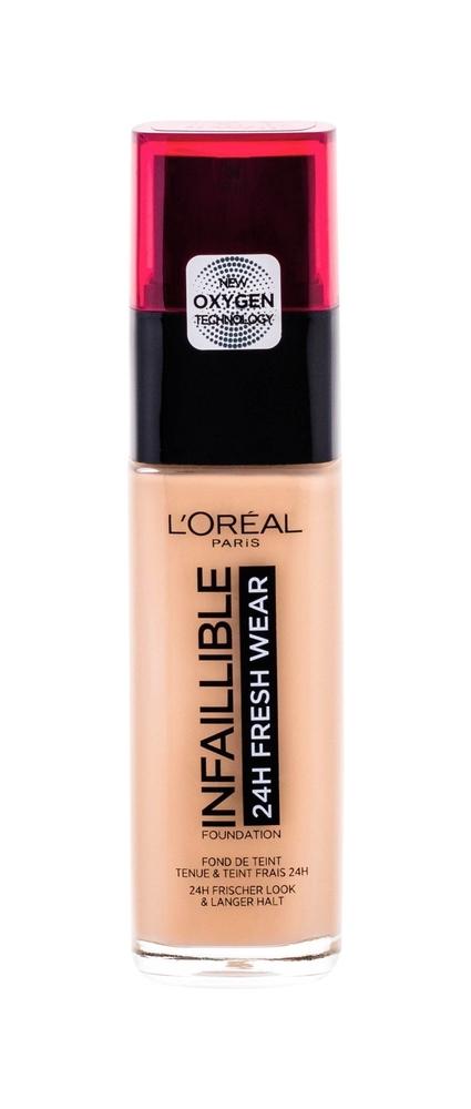 L/oreal Paris Infaillible 24h Fresh Wear Makeup 30ml 145 Rose Beige
