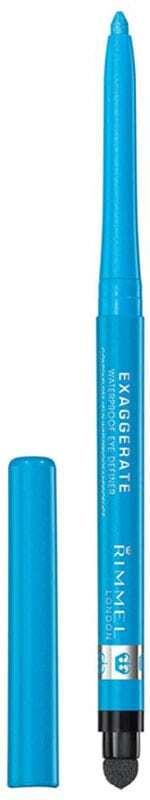 Rimmel London Exaggerate Waterproof Eye Pencil 240 Aqua Sparkle 0,28gr (Waterproof)
