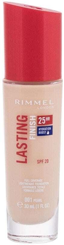 Rimmel London Lasting Finish 25H SPF20 Makeup 001 Pearl 30ml