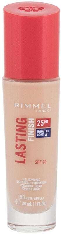 Rimmel London Lasting Finish 25H SPF20 Makeup 150 Rose Vanilla 30ml