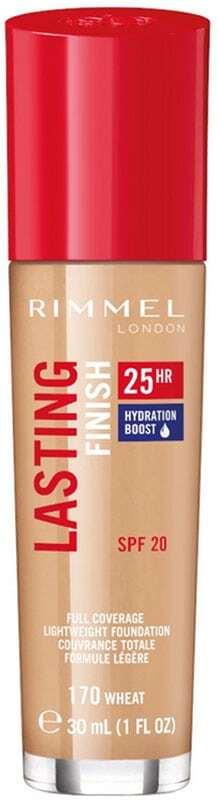 Rimmel London Lasting Finish 25H SPF20 Makeup 170 Wheat 30ml