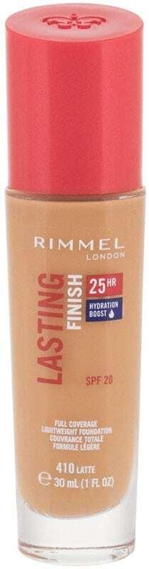 Rimmel London Lasting Finish 25H SPF20 Makeup 410 Latte 30ml