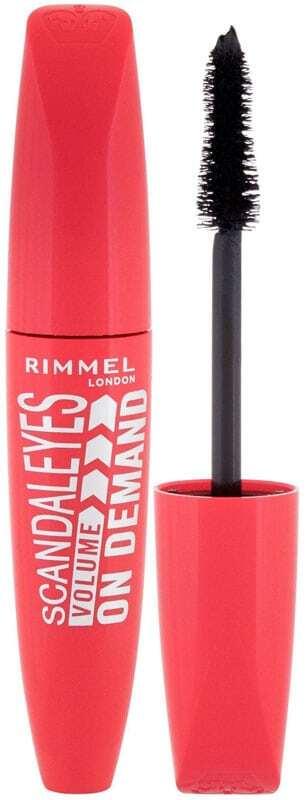 Rimmel London Scandal Eyes Volume On Demand Mascara 001 Black 12ml