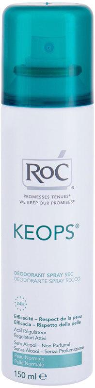 Roc Keops 24H Deodorant 150ml (Deo Spray - Alcohol Free)