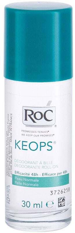Roc Keops 48H Deodorant 30ml (Roll-On - Alcohol Free)