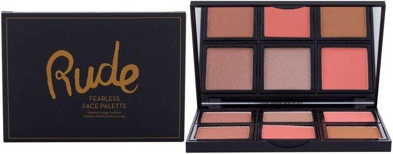 Rude Cosmetics Fearless Makeup Palette 18gr