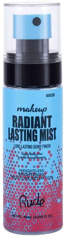 Rude Cosmetics Radiant Lasting Makeup Mist Make - Up Fixator 60ml