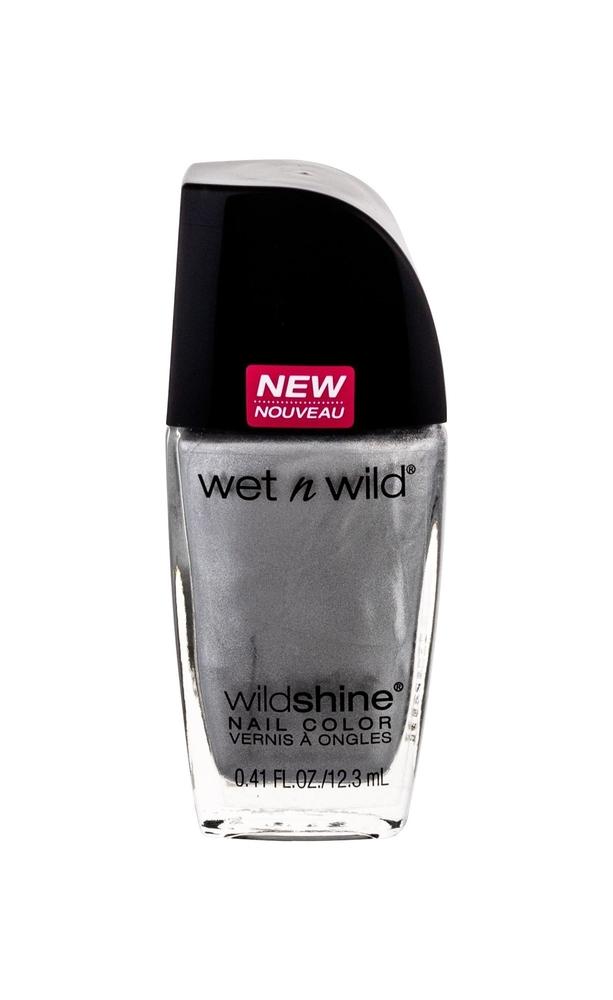 Wet N Wild Wildshine Nail Polish 12,3ml E489b Metallica