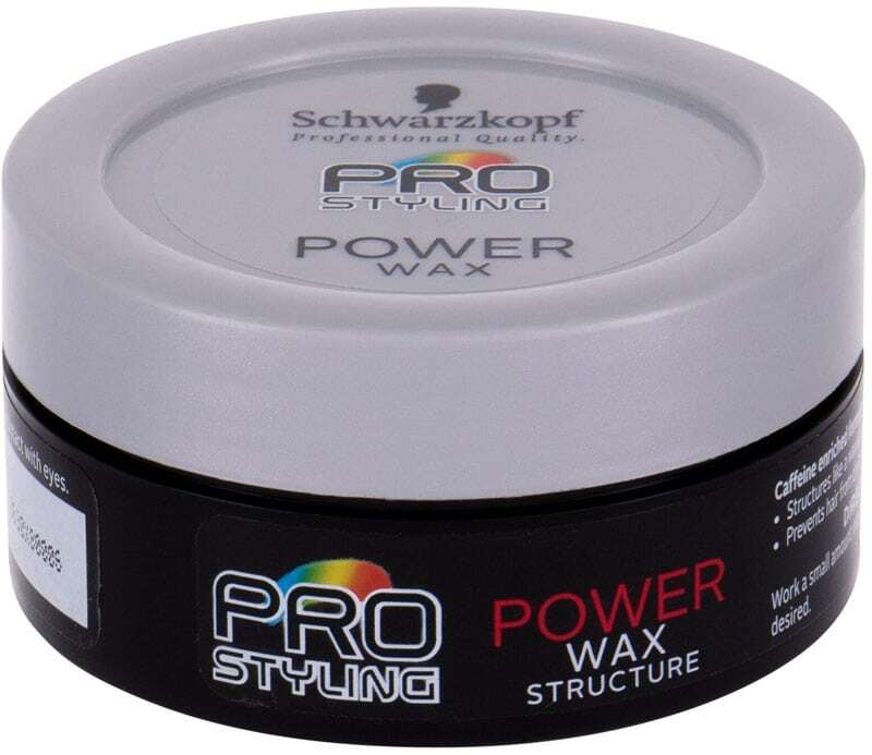 Schwarzkopf Professional Pro Styling Power Wax Hair Wax 75ml (Medium Fixation)