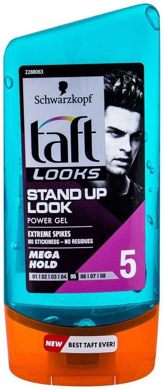 Schwarzkopf Taft Stand Up Power Gel Hair Gel 150ml (Medium Fixation)