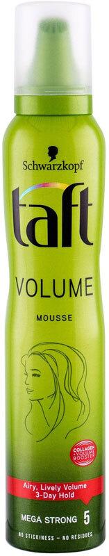 Schwarzkopf Taft Volume Hair Mousse 200ml (Extra Strong Fixation)
