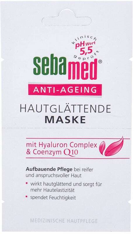 Sebamed Anti-Ageing Q10 Face Mask 10ml (Wrinkles - Mature Skin)