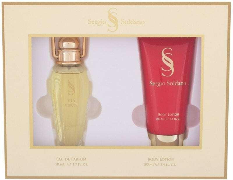 Sergio Soldano Via Venti Eau de Parfum 50ml Combo: Edp 50 Ml + Body Lotion 100 Ml