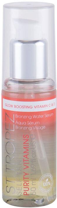 St.tropez Self Tan Purity Vitamins Bronzing Water Serum Self Tanning Product 50ml
