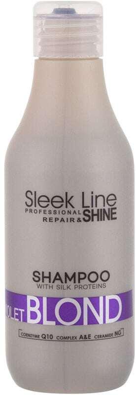 Stapiz Sleek Line Violet Blond Shampoo 300ml (Blonde Hair)