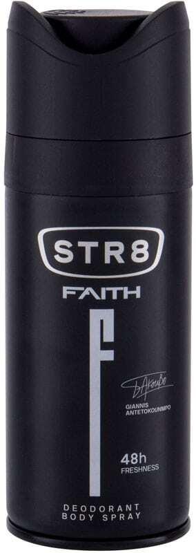 Str8 Faith 48h Deodorant 150ml (Deo Spray)