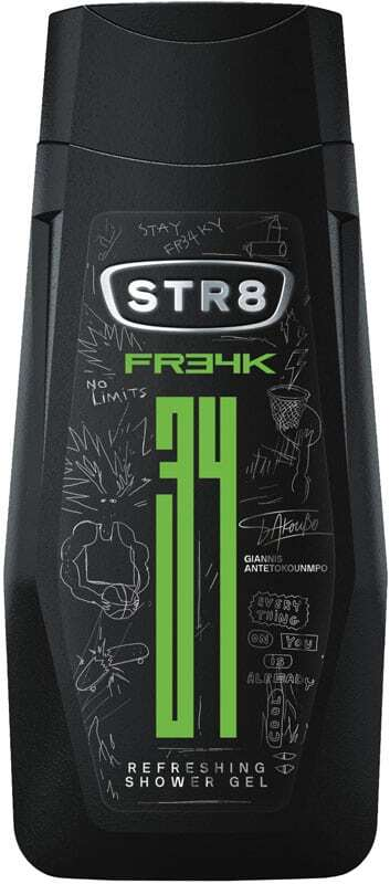 Str8 FR34K Shower Gel 400ml