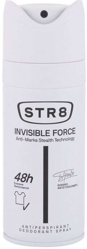 Str8 Invisible Force 48h Antiperspirant 150ml (Deo Spray - Alcohol Free)