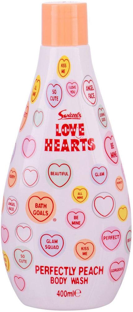 Swizzels Love Hearts Perfectly Peach Shower Gel 400ml