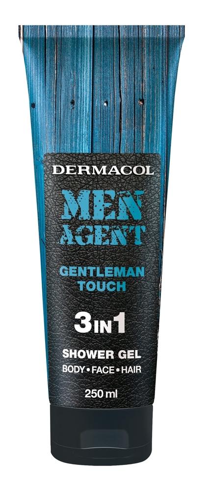 Dermacol Men Agent Gentleman Touch Shower Gel 250ml 3in1