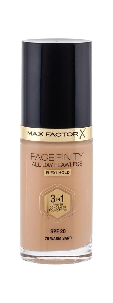 Max Factor Facefinity 3 In 1 Makeup 30ml Spf20 70 Warm Sand (Tekuta)