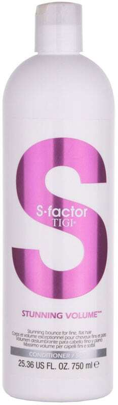 Tigi S Factor Stunning Volume Conditioner 750ml (Fine Hair)