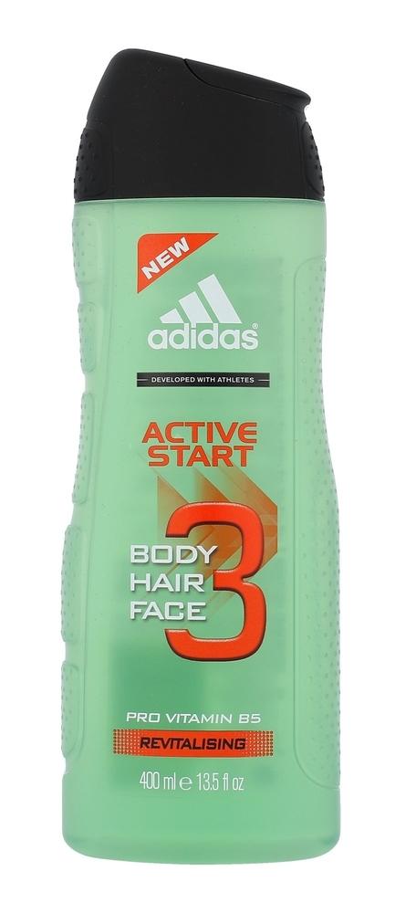 Adidas Active Start 3in1 Shower Gel 400ml