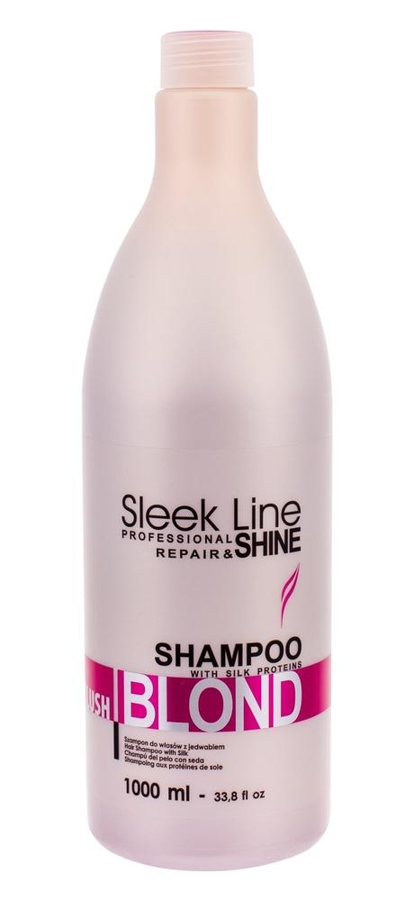 Stapiz Sleek Line Blush Blond Shampoo 1000ml (Blonde Hair)