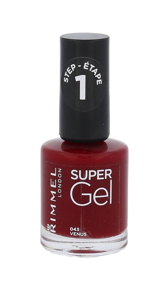 Rimmel London Super Gel Step1 Nail Polish 12ml 043 Venus
