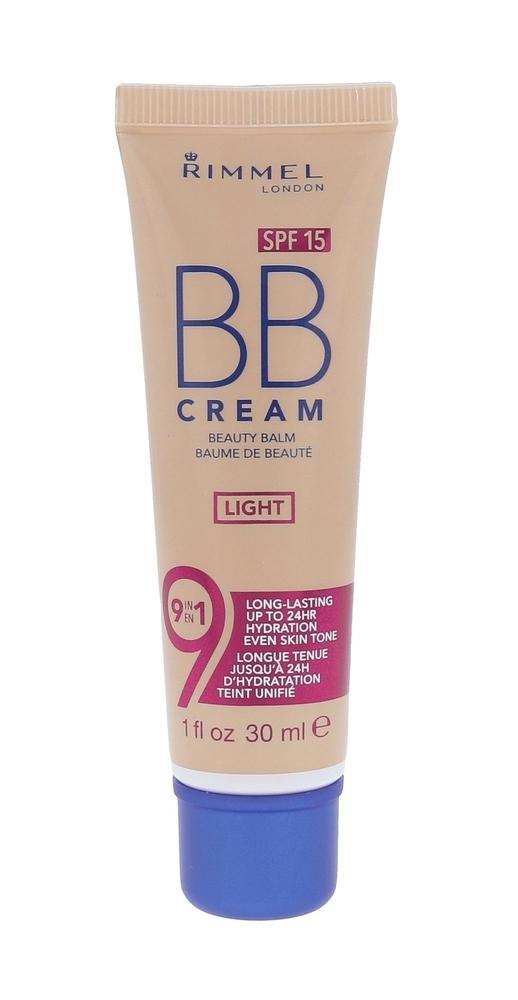 Rimmel London Bb Cream 9in1 Spf15 Bb Cream 30ml Light