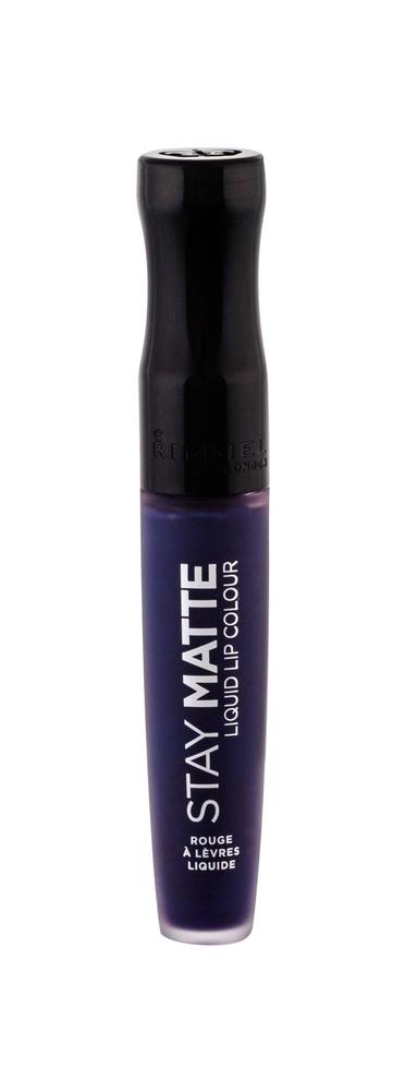 Rimmel London Stay Matte Lipstick 5,5ml 830 Blue Iris (Matt)