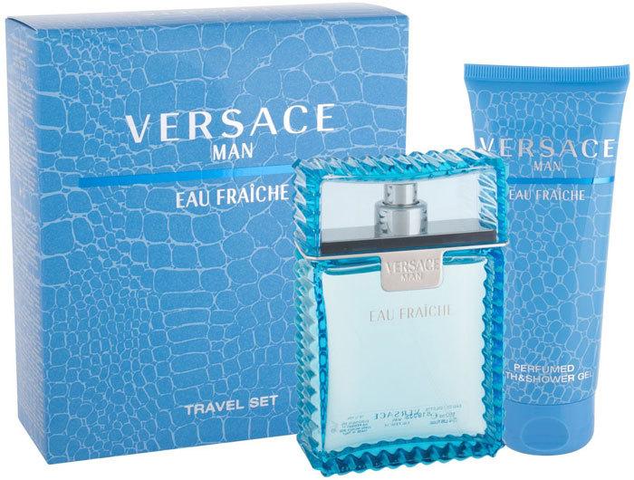Versace Man Eau Fraiche Eau de Toilette 100ml Combo: Edt 100ml + 100ml Shower Gel