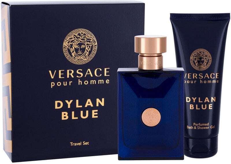 Versace Pour Homme Dylan Blue Eau de Toilette 100ml Combo: Edt 100 Ml + Shower Gel 100 Ml