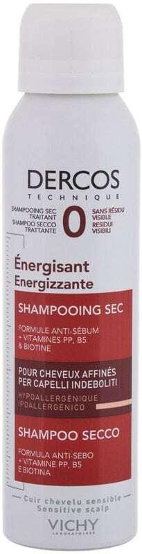 Vichy Dercos Energising Dry Shampoo 150ml (Weak Hair)