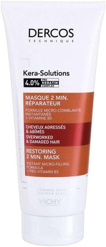 Vichy Dercos Kera-Solutions 2 Min. Hair Mask 200ml (Damaged Hair)